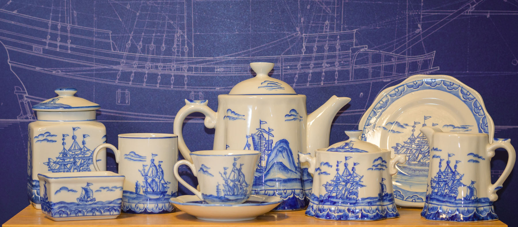 Blue Ship Pottery